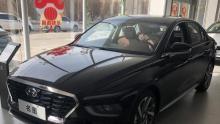 全新一代名图13.38万元起售 北京经销商店实车体验